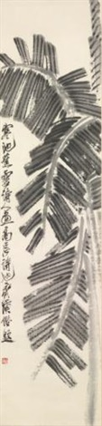 banana palms by qi baishi