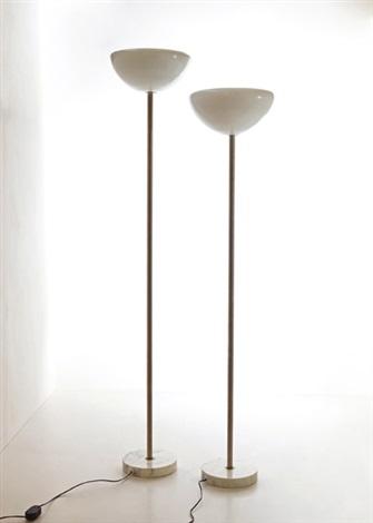 due lampade da terra papavero by pier giacomo and achille