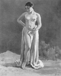 stehender weiblicher akt by max-emanuel huber