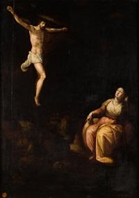 cristo crucificado con la magdalena by flemish school (16)