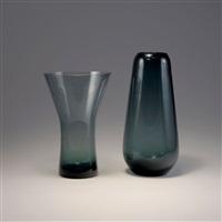 zwei vasen (2 works, 1 lrgr by wilhelm wagenfeld