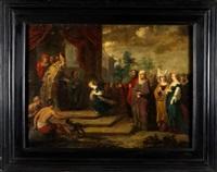la presentacion de la virgen by frans francken iii