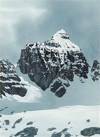 untitled - high pass in winter by simon camping
