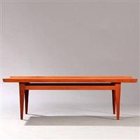 rectangular coffee table (model 532/45) by finn juhl