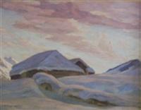 winter in den bergen by elfriede jungk