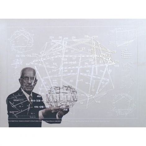 non symetrical tension integrity by buckminster fuller