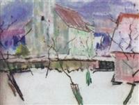 vor der kirche by paul vahrenhorst