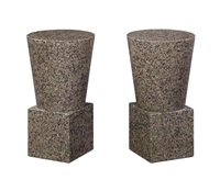 side tables (pair) by scott burton