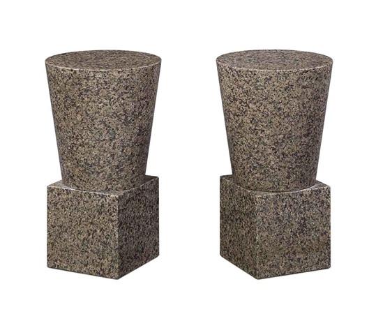 side tables pair by scott burton