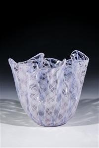 taschentuch-vase ''zanfirico'' by fulvio bianconi