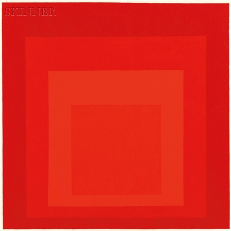 silent center hommage to josef albers by hannes beckmann