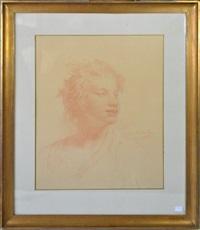 portrait de jeune fille by jean françois portaëls