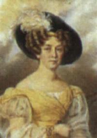 portrait of a lady by paul gomien