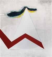 grande triangolo con segnale rosso by nino aimone