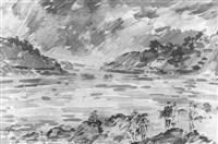 küste von südfrankreich by fedor smirnov