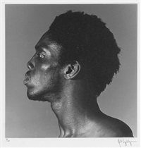 alistair butler, n.y.c. (from portfolio z) by robert mapplethorpe
