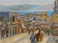 market in tiberius by margarete von zawadzky