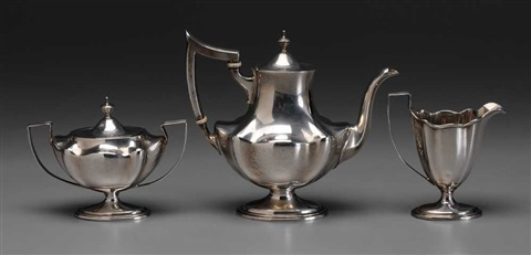 coffee service set of 3 by bailey banks and biddle