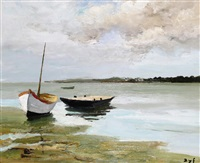 marée basse in the morbihan by marcel dyf