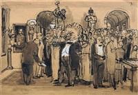 der revolutionäre kulturlöwe by bernhard kretzschmar