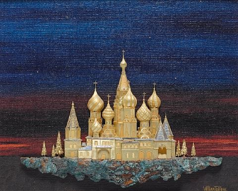 st basils and the kremlin by william tolliday