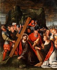 christus auf dem weg zum kalvarienberg by frans francken the elder