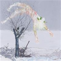 snow in songzhuang-3 by lin chun yan