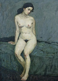 裸女 by ma changli
