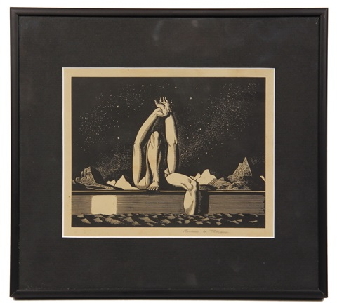 starlight by rockwell kent