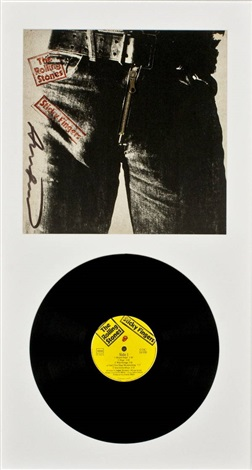 The Rolling Stones-Sticky fingers by Andy Warhol on artnet