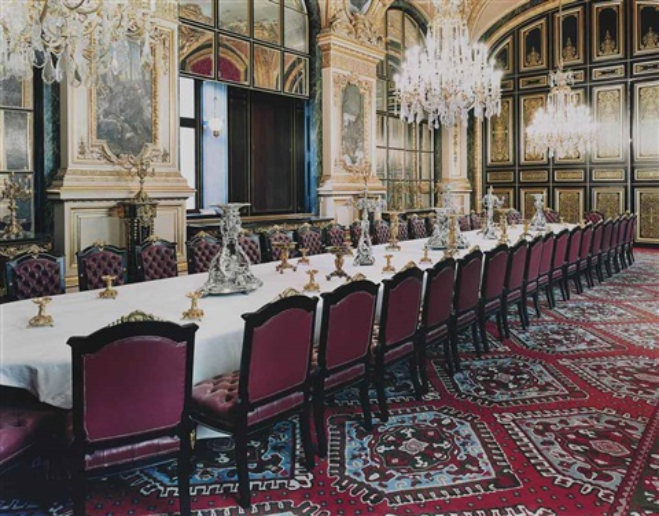 musée du louvre paris xix by candida höfer