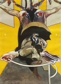 second version of painting by francis bacon