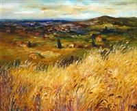 blés en provence by marcel dyf