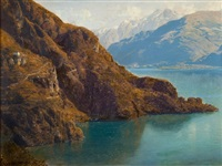lac de côme by julius lange