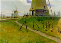dutch landscape by john rettig