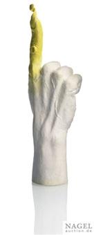 gelber finger by pia stadtbäumer