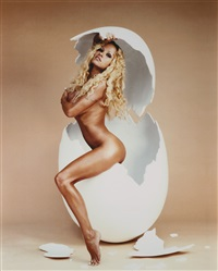 pamela anderson: over easy by david lachapelle