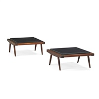 low tables (pair) by george nakashima