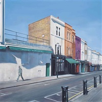 portobello road, morning by georgia peskett