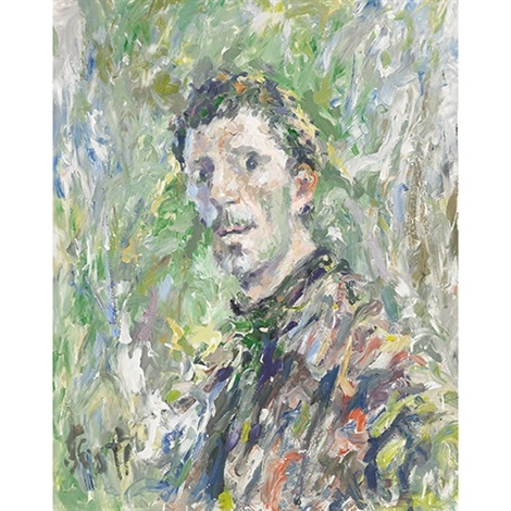 self portrait by gerald william scott
