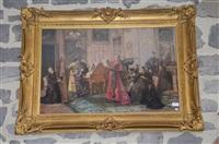 la choral des curés by henry eugène delacroix