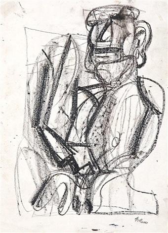 figura maschile by mario sironi