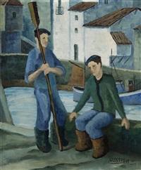 pescadores by juan de arostegui