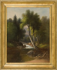 artist brook by benjamin champney