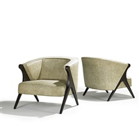 lounge chairs (pair) by maurice bailey