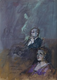 personaggi al cinema by alberto sughi