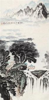 太白积雪六月天 by luo guoshi