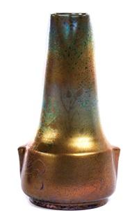 vase (model japon) (designed by juan golfe) by clement massier
