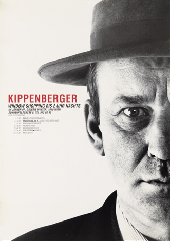 ohne titel plakate 11 works 2 exhibition posters 13 works by martin kippenberger