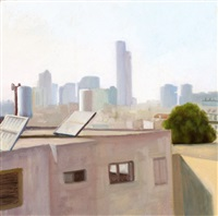 the roofs of ramat gan by yehuda armoni
